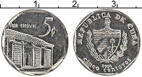 Изображение Монеты Куба 5 сентаво 2002 Медно-никель UNC-