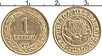 Изображение Монеты Парагвай 1 сентим 1950 Латунь XF