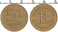 Изображение Монеты Аргентина 50 сентаво 1994 Латунь XF
