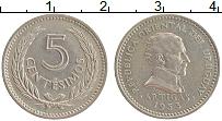 Изображение Монеты Уругвай 5 сентим 1953 Медно-никель XF