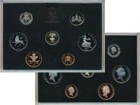 Изображение Подарочные монеты Великобритания Выпуск 1985 1985  Proof