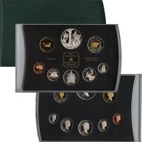 Изображение Подарочные монеты Канада 50-летний юбилей Елизаветы 2002  Proof