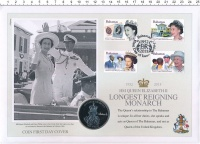 Изображение Подарочные монеты Виргинские острова 1 доллар 2015 Медно-никель UNC