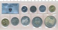 Изображение Подарочные монеты Австрия Набор 1969 года 1969  Proof