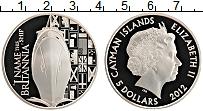 Продать Монеты Каймановы острова 5 долларов 2012 Серебро