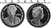 Продать Монеты Фолклендские острова 1 крона 2007 Серебро