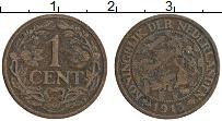 Изображение Монеты Нидерланды 1 цент 1915 Бронза XF