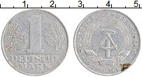 Изображение Монеты ГДР 1 марка 1962 Алюминий XF А