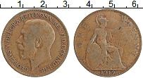 Изображение Монеты Великобритания 1 пенни 1919 Бронза XF Георг V
