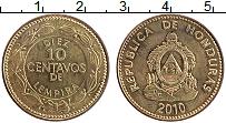 Изображение Монеты Гондурас 10 сентаво 2010 Латунь XF