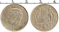 Изображение Монеты Греция 1 драхма 1970 Медно-никель XF Константин II