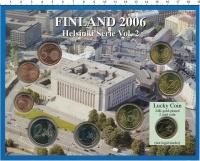 Изображение Подарочные монеты Финляндия Евронабор 2006 года 2006  UNC