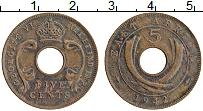 Изображение Монеты Восточная Африка 5 центов 1942 Бронза XF