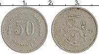 Изображение Монеты Финляндия 50 пенни 1923 Медно-никель XF