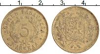 Изображение Монеты Финляндия 5 марок 1949 Латунь XF