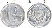 Изображение Монеты Куба 1 сентаво 2005 Алюминий UNC-