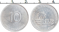 Изображение Монеты Куба 10 сентаво 1988 Алюминий UNC- Интур