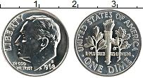 Изображение Монеты США 1 дайм 1968 Медно-никель Proof