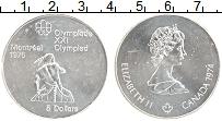 Изображение Монеты Канада 5 долларов 1974 Серебро UNC- Елизавета II. XXI Ле