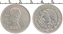 Изображение Монеты Мексика 500 песо 1988 Медно-никель XF Игнасио Мадеро