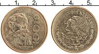 Изображение Монеты Мексика 100 песо 1984 Латунь XF