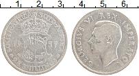 Изображение Монеты ЮАР 2 1/2 шиллинга 1937 Серебро VF