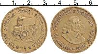 Изображение Монеты ЮАР 1 цент 1962 Латунь XF Йохан ван Рибек