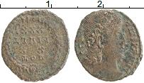 Изображение Монеты Древний Рим АЕ 3 0 Медь VF Констанций II 337-36
