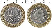 Изображение Монеты Великобритания 2 фунта 2006 Биметалл XF