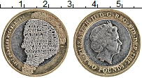 Изображение Монеты Великобритания 2 фунта 2012 Биметалл XF Елизавета II. 200 ле