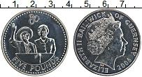 Изображение Монеты Гернси 5 фунтов 2006 Медно-никель UNC-