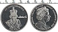 Изображение Монеты Виргинские острова 1 доллар 2015 Медно-никель Proof-