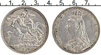 Изображение Монеты Великобритания 1 крона 1887 Серебро XF Виктория