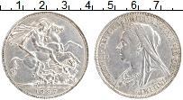 Изображение Монеты Великобритания 1 крона 1897 Серебро XF Виктория