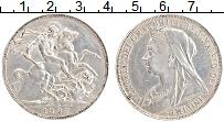 Изображение Монеты Великобритания 1 крона 1897 Серебро XF