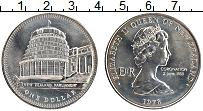 Изображение Монеты Новая Зеландия 1 доллар 1978 Медно-никель UNC- 25 лет коронации кор