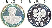 Изображение Монеты Польша 200 злотых 1989 Серебро Proof-