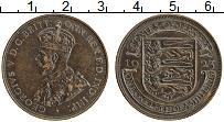 Изображение Монеты Остров Джерси 1/12 шиллинга 1923 Бронза XF