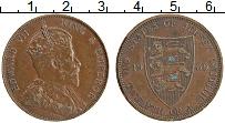 Изображение Монеты Остров Джерси 1/12 шиллинга 1909 Медь XF