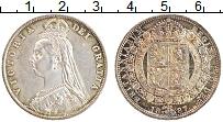 Изображение Монеты Великобритания 1/2 кроны 1887 Серебро XF Виктория