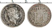 Изображение Монеты Сицилия 10 грани 1851 Серебро XF Фердинанд II