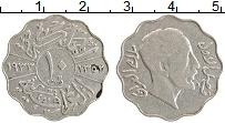 Изображение Монеты Ирак 10 филс 1933 Медно-никель XF Гази I