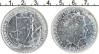 Изображение Монеты Великобритания 2 фунта 2015 Серебро UNC-