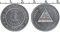 Изображение Монеты Никарагуа 1 кордоба 2007 Железо XF
