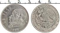 Изображение Монеты Мексика 1 песо 1983 Медно-никель XF Хосе Морелос