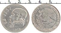 Изображение Монеты Мексика 1 песо 1976 Медно-никель XF