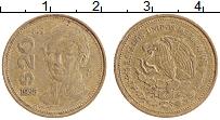 Изображение Монеты Мексика 20 песо 1985 Латунь XF Гуадалупе Виктория