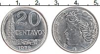 Изображение Монеты Бразилия 20 сентаво 1978 Железо XF