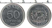 Изображение Монеты Бразилия 50 сентаво 1988 Железо UNC- Герб