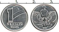 Изображение Монеты Бразилия 1 сентаво 1989 Железо XF Профессии